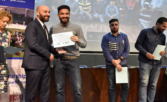 """بالصور: كلية """"طلال أبوغزاله """" تشارك في التحكيم في مسابقة الأعمال الإبداعيّة في جامعة البترا"""