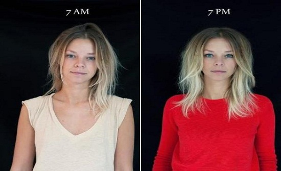 تغير كبير بشكل الإنسان بين الصباح والمساء (صور)