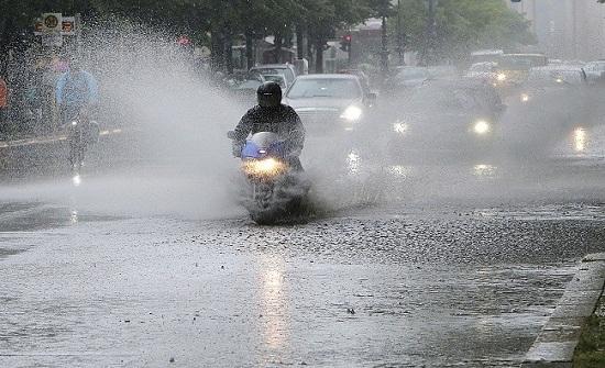 كميات الامطار خلال الـ 48 ساعة الماضية وحتى الساعة الثامنة صباح اليوم