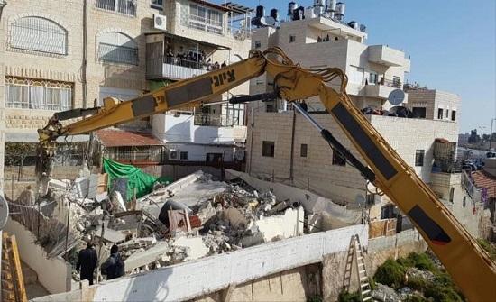 الاحتلال الاسرائيلي يهدم مساكن وبركسات وحظائر الاغوار الشمالية