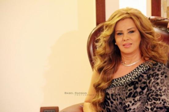 الفنانة السورية سلمى المصري تتعرض لحادث!