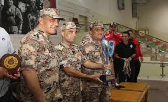 المنطقة العسكرية الوسطى تفوز بلقب بطولة القوات المسلحة الأردنية لكرة اليد