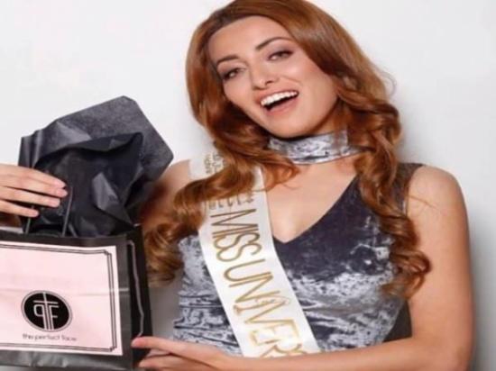 ملكة جمال العراق تنشر صورة لها مع منافستها الإسرائيلية وتعلق عليها