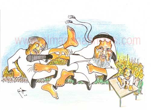 """في مجمع النقابات : كونغ فو و """" موس """" أبو سبع طقات !"""