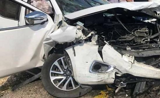 4 إصابات اثر حادث تصادم في اربد
