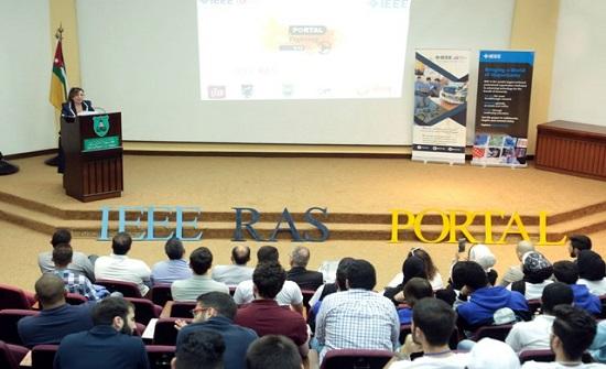 (الأردنية) تحتضن المسابقة الوطنية الأولى للروبوتات