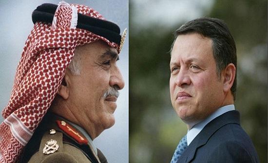 شاهد ماذا قال المغفور له الملك الحسين و الأمير حسين عن الملك عبدالله