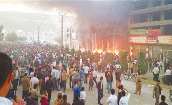 المقاومة الايرانية : 8 آلاف شخص على الأقل عدد المعتقلين خلال الانتفاضة