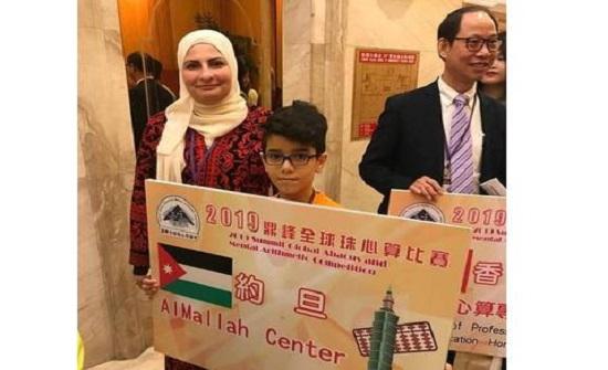 طالب اردني يفوز بمسابقة الذكاء الذهني في الصين