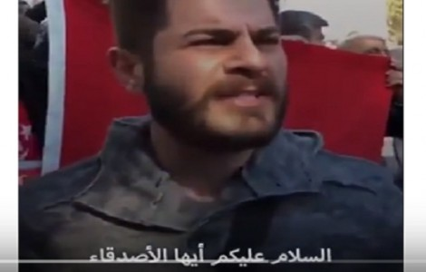 بالفيديو : شاهد ماذا يقول هذا الشاب التركي للمسلمين عن المسجد الاقصى