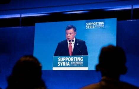 """كلمة الملك عبدالله الثاني في مؤتمر المانحين """" دعم سوريا والمنطقة """""""