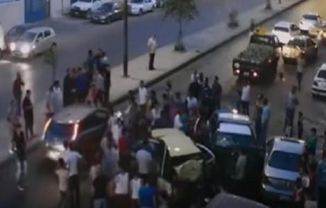 شاهد : نشطاء يبثون فيديو لحادث راس العين الذي اودى بوفاة شخص واصابة 4