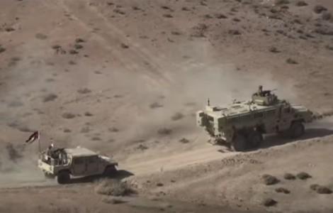 يالفيديو  : تدريب مصري أردني يكشف عن أسلحة موثوق بها