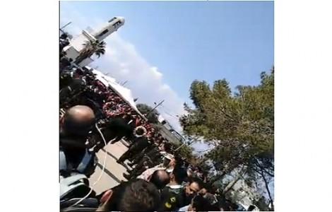 فيديو : تشييع الشهيد سعيد الذيب في مسقط رأسه