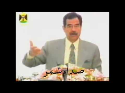 بالفيديو .. صدام حسين وهو يحترق على فلسطين وعلى حال العرب
