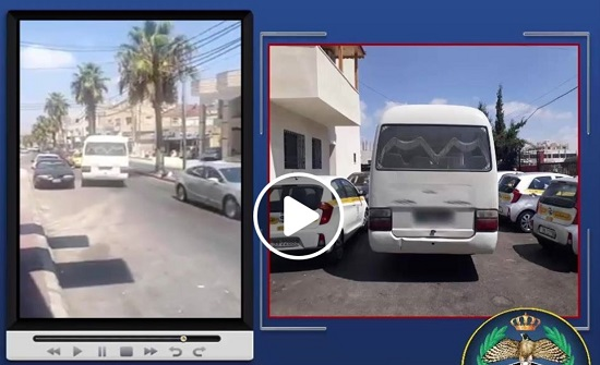 ضبط سائق يقود بعكس السير في اربد (فيديو)