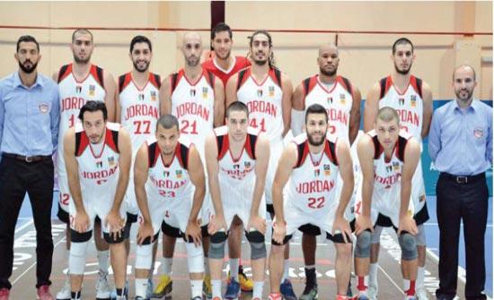 منتخب السلة يلتقي روسيا وايران مطلع الشهر المقبل