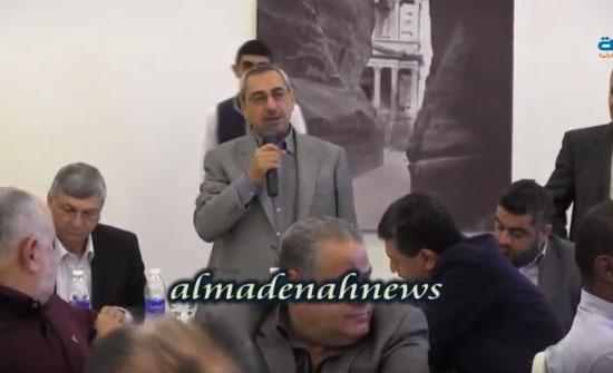 شاهد بالفيديو : مداخلة رياض النوايسة في ندوة عزوف الأردنيين من أصل فلسطيني عن المشاركة في الإنتخابات