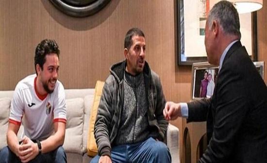 الشوملي بعد مباراة النشامى :  شعوري لا يوصف