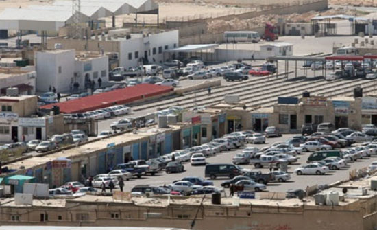 تجار بالمنطقة الحرة يدعون لاعتصام مفتوح