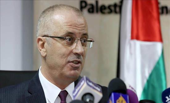 """الحمد الله: استشهاد 14 فلسطينيا منذ اعلان """"ترامب"""" بشأن القدس"""