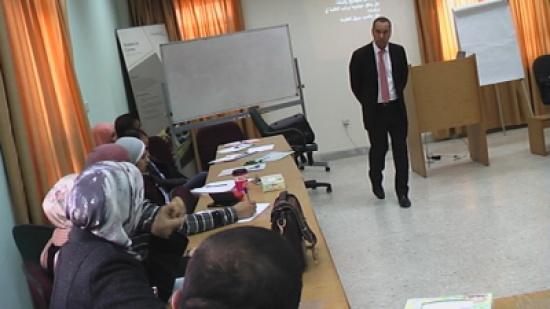 المركز الوطني للتدريب وتأهيل المدربين جامعة البلقاء التطبيقية يعقد دورة(التأهيل التربوي )