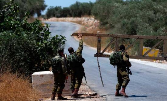 الاحتلال يواصل حصار وإغلاق بلدة دير أبو مشعل