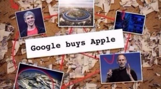 غوغل استحوذت على آبل مقابل 9 مليار دولار!