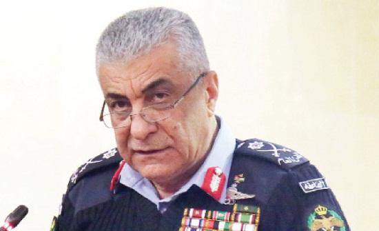مدير الأمن العام يلتقي أعضاء المجالس الأمنية المحلية لوسط عمان