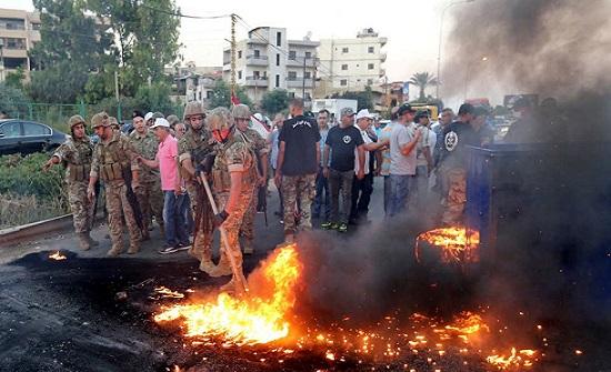 لبنان.. العسكريون المتقاعدون يحتجون على الموازنة
