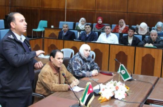اليرموك تنظم دورة عن الاسعافات الأولية والسلامة العامة