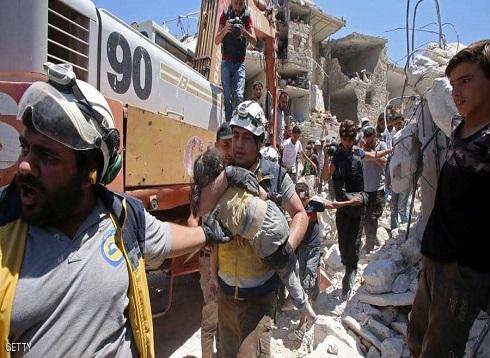 أطفال بين الركام في إدلب.. المأساة في صورة