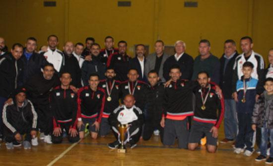 فريق أمانة عمان بطلا لدوري الشركات للمحترفين في خماسي كرة القدم