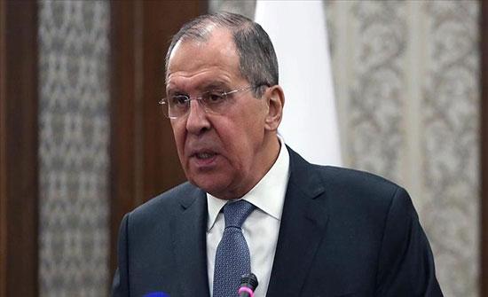 لافروف يؤكد دعم روسيا لحل سلمي لأزمة فنزويلا