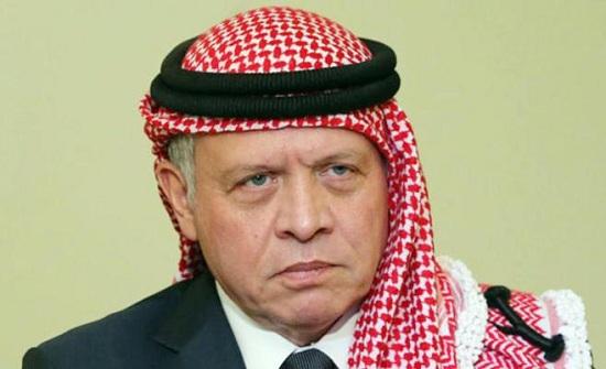 الملك يعزي بشهداء قطاع غزة