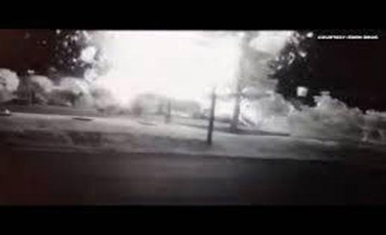 لقطات مروعة... أول فيديو لانفجار مطعم شهير في امريكا
