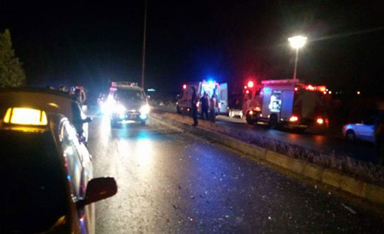 وفاة شخص وإصابة اثنين آخرين اثر حادث تدهور في محافظة العقبة