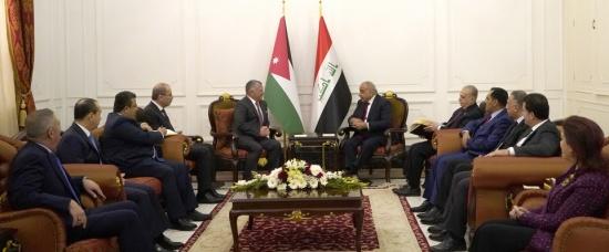 رئيس الوزراء العراقي: زيارة الملك للعراق حدث كبير ولها صدى على المستويين المحلي والإقليمي
