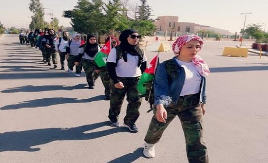 """اختتام فعاليات معسكر """"مسارات الأردن"""" لإقليم الشمال"""
