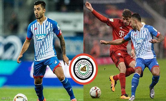 """الحكومة العراقية تتدخل لضم لاعب سويدي لـ""""أسود الرافدين"""""""