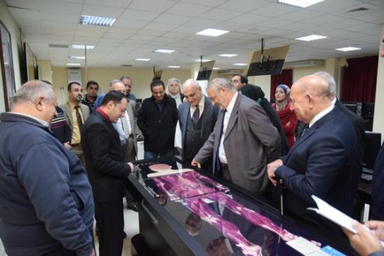افتتاح مختبر التشريح الرقمي التفاعلي Digital Anatomy Lab في كلية الطب في الجامعة الهاشمية