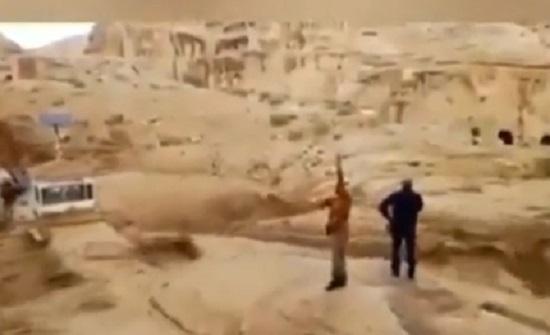 شاهدوا فيديوهات من السيول التي وقعت في مختلف مناطق المملكة