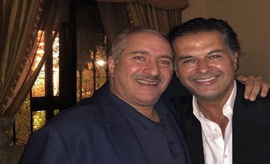 ناصر جوده : مع راغب علامة صداقة تعود لسنين - صورة