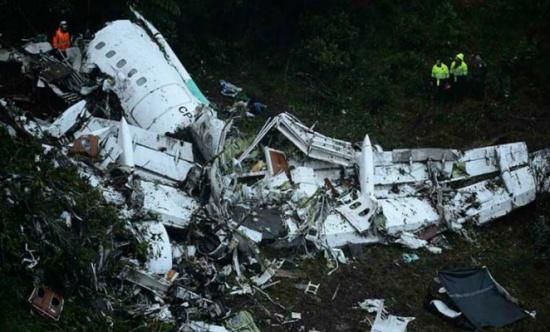 تسجيلات: طائرة فريق كرة القدم البرازيلي تحطمت في كولومبيا بسبب نفاد الوقود