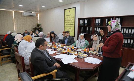 """جامعة الزرقاء تعقد ورشة عمل بعنوان """"الكفايات المعرفية ومصفوفة المهارات"""""""