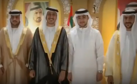 شاهد: حفل زفاف الشيخة لطيفة بنت الشيخ محمد بن راشد حاكم دبي!