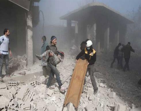 الدفاع المدني السوري: قصف الغوطة الشرقية بغاز الكلور السام