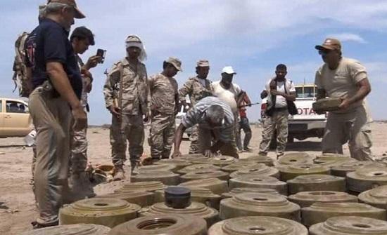 تقرير يؤكد ضلوع إيران بتزويد ميليشيات الحوثي بالألغام