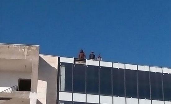 محاولة انتحار جماعية بالقرب من الدوار السابع.. (صور)