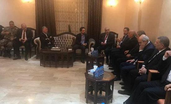 تفاصيل لقاء الملك مع متقاعدين عسكريين في اربد